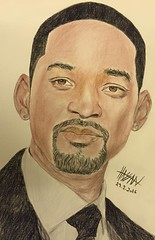 Will Smith (Hassan N. Arts) Tags: portrait model drawing actor inspire willsmith