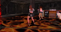 Club Drow (Osiris LeShelle) Tags: life party music club out fun dance dancing grove character secondlife second drow ooc avilion
