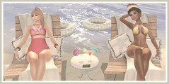 #MW MESH ASSETS  YANI AND SUKI (suki (suegeeli decuir )) Tags: beach relax photocontest swimwear newfriends positivevibes modelsworkshop meshassets