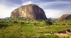 Zuma Rock (Irene Becker) Tags: africa landscape westafrica nigeria monolith blackafrica arewa northernnigeria federalcapitalterritory gatewaytoabuja nigerianimages nigerianphotos imagesofnigeria northnigeria irenebeckereu