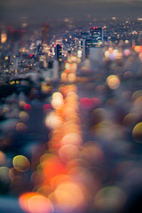 traffic jam (turntable00000) Tags: extrabokeh roppongi tokyo japan shibuya hikarie nightscape bokehlicious