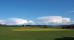 Clouds seen from Troon Ayrshire Scotland (cmax211) Tags: clouds golf scotland blurred course troon ayrshire mediumquality