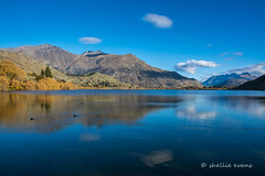 Lake Hayes, Queenstown (flyingkiwigirl) Tags: camping autumn lake sunrise freedom queenstown hayes