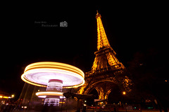 Il est nuit  Paris (palashmitter) Tags: longexposure paris france europe eiffeltower eiffel toureiffel