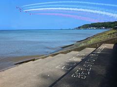 Wales National Airshow 2016 (DJLeekee) Tags: swansea wales display air airshow mumbles redarrows typhoon 2016 belgum antional wnas wnas2016