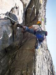 P7031909 (diegobracco) Tags: gianluca arrampicata bourcet multipitch urlodimunch