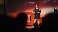 Talks TEDxRennes 2016  Pascale Toscani