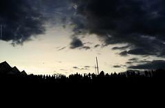 barcelona sky mobile backlight clouds dawn forum... (Photo: Aviones Plateados on Flickr)