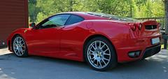 2005 Ferrari F430 F1 (crusaderstgeorge) Tags: 2005 red cars cool italian f1 ferrari classiccars sportscar f430 supercars prancinghorse redcars carmeet lvkarleby 2005ferrarif430f1