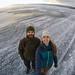 Caminhando sobre o Baikal