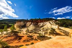 Les ocres de Rustrel: le Sahara Provenal-002 (bonacherajf) Tags: lubron rustrel ocres colorado provence luberon