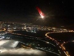 Life is tough without a getaway... (noargument) Tags: sky night lights fly airplanes airports turkishairlines