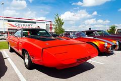 1969 Dodge Charger Daytona (hz536n/George Thomas) Tags: sky june austin spring texas dodge canon5d mopar daytona charger 2016 cota hotrodpowertour ef1740mmf4lusm 440sixpack circuitoftheamericas
