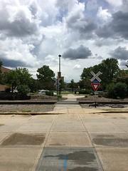 Railroad Tracks- Green Bay, WI (MichaelSteeber) Tags: downtown greenbay museum outdoors outside railroad watermark wisconsin