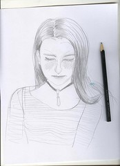 bocetando / sketching (No para Innita) Tags: portrait woman art face female illustration pencil mujer artist chica drawing retrato feminine no cara lips labios dibujo rostro artista ilustracin lpiz noparainnita