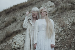 Light souls (Alina Autumn) Tags: girls light white mountains art history love beautiful vintage hair photo hands mood photographer outdoor atmosphere beaty blonde fragility