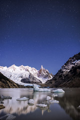 When my star met yours (Jay Daley) Tags: patagonia southamerica argentina nikon 24mm shootingstars cerrotorre d810