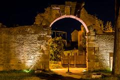 Illumination (grasso.gino) Tags: italien italy wall night ancient nikon italia nacht roman illuminated rom marche marken mauer rmisch antik fano beleuchtet d5200 muraaugustee