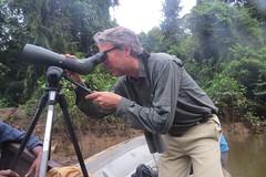 JF in action at Ketu Creek IMG_5868 (sicklebillsafaris) Tags: new private guinea mt tour escape small group birding adventure png papua hagen birdwatching tari guided rondon safaris kiunga ambua sicklell kwatu