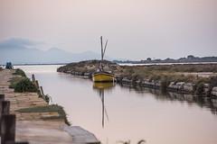 DSC_5421 (Pasquesius) Tags: sunset sea boat dock barca tramonto mare lagoon sicily rosso saline molo sicilia canale saltponds marsala stagnone lagunadellostagnone riservanaturaledellostagnone