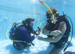 2313 Andrew Searle (KnyazevDA) Tags: sea underwater wheelchair scuba diving disabled diver padi undersea handicapped amputee disability