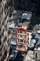 Red Facade (HubbleColor {Zolt}) Tags: newyork urban manhattan architecture topoftherock