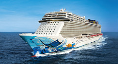 Norwegian Escape (drjeeeol) Tags: ocean family vacation usa ship miami ships aerial fl triplets aerials 2016 seatrials arseat norwegianescape