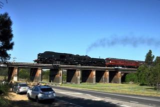 Garratt on the South - Menangle bridge