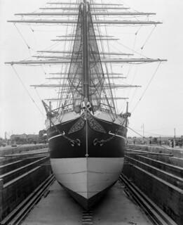 København at Henry Robb's shipbuilding yard, Leith 1921