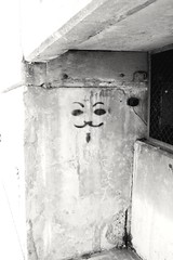 We Are Legion, We Are Everywhere. (PhotoJester40) Tags: face outside outdoors goatee eyes guyfawkes mustache legion