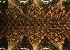 'iChancel ceiling'       (see description) (Peter Miles) Tags: gloucestercathedral chancel ceiling chancelceiling iphone6splus iphone 6s plus medieval architecture medievalarchitecture ukcathedrals