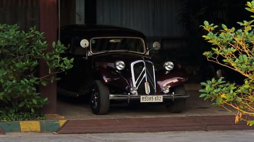 Vintage Citroen car