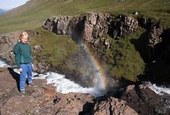Mjifjrur (arnthorr) Tags: arnthorr arnrragnarsson ar arnthorragnarsson arnr arnthor hringur2016 foss waterfall rainbow regnbogi regnbogiogfoss rainbowandwaterfallgil austfirir eastcoast iceland islande sland  river