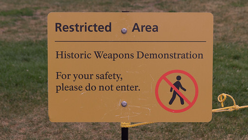 Historic Weapons Demonstration