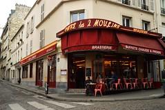 Cafe des 2 Moulin (daysgabi) Tags: trip red paris france montmartre amelie brazilian poulain