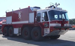Dobbins ARB Crash Truck (Avery Guthrie) Tags: rescue fire airport force air reserve firefighting fighting base department dobbins arff