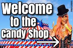 candy, shop, maria, durani, durban, circus, welcome, smile, singer, model, pop, music, (mariadurbani) Tags: pink fashion shop hair candy circus maria barbie style spanish lollipop durbani