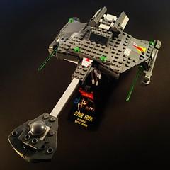 Klingon D7 Battle Cruiser (WEBmikey) Tags: startrek toys klingon megabloks