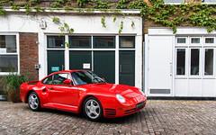 959. (Alex Penfold) Tags: red london cars alex car super porsche autos supercar spotting supercars penfold 959 2016