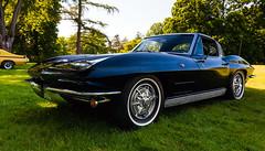 1963 Corvette Sting Ray (hz536n/George Thomas) Tags: summer copyright chevrolet canon stingray michigan chevy canon5d corvette c2 flint carshow 2016 ef1740mmf4lusm cs5 sloanmuseum sloanmuseumautofair
