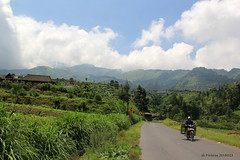 Landscape of Mount Merbabu (denmasbrindhil) Tags: bicycle view bicycletouring selo landscapephotography mountaneous mountmerbabu boyolali