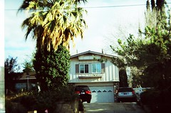 Longer shot of that beautiful house (Life Prowler) Tags: lomography holga135