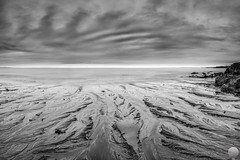 Hvaleyrin (Gujn Ott) Tags: sea sky bw cloud white black beach nature water landscape sand rocks waves gravel sjr nttra vatn sk svart himinn fjara klettar landslag ott hvt canonef1740mmf40lusm ldur ml hvaleyrin canoneos5dmarkii fjru 5d2 singhrayreversendgraduatedfilter myndsandur