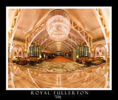Royal Fullerton (Ashley Teo (PilotPotato)) Tags: travel urban panorama tourism architecture lights hotel singapore exposure interior symmetry stitching fullerton blending