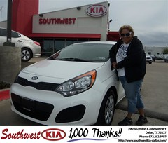 Southwest Kia of Dallas would like to wish a Happy Birthday to Mary Leos! (Southwest Kia Dallas) Tags: new southwest car sedan truck wagon happy dallas texas tx used vehicles mesquite bday dfw kia van suv coupe rockwall dealership hatchback dealer customers minvan 4dr metroplex shouts 2dr preowned