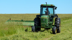 Rolling Oaks Farm - Cutting Hay (basicbill) Tags: field illinois corn farm harvest equipment machinery fields farmer hay agriculture soybeans alfalfa wwwbasicbillcom