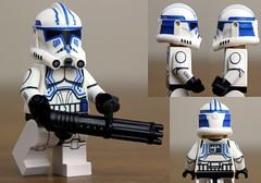 Custom LEGO Clone Trooper Hardcase (Clone Wars Phase 2) (JPO97Studios) Tags: trooper season star lego 4 501st wars custom clone decals minigun hardcase umbara jpocustoms jpostudios jpo97studios