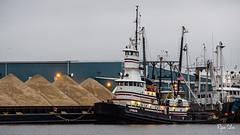 LYMAN (Ryan Silva) Tags: ocean sea water port coast harbor tugboat tug fairhaven barge lyman newbedford gatewaytowing