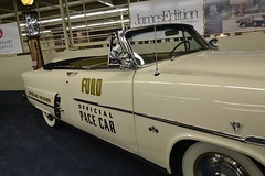 1953 Ford Crestline Sunliner Indy 500 Pace Car (Custom_Cab) Tags: pictures auto door trip las vegas usa ford car museum emblem logo hotel us crestline united nevada indy convertible quad casino resort collection nv collections badge imperial wife pace decal states 500 1953 harrahs the sunliner