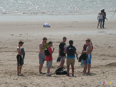 Barry Island July 2013 -  129 (marmaset) Tags: summer seagulls men beach seaside sand lads barry trunks swimmers sunbathers beachboys heatwave barryisland funinthesun rightcommon sunworhippers